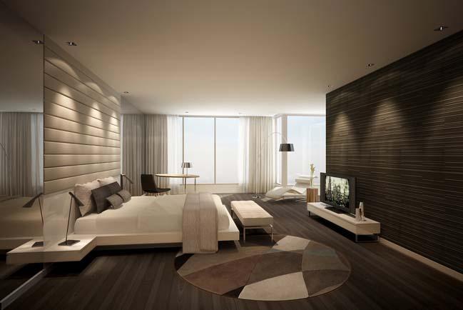 can ho penthouse tai sai gon pearl 07 Chiêm ngưỡng căn hộ penthouse cao cấp sang trọng tại Sài Gòn Pearl