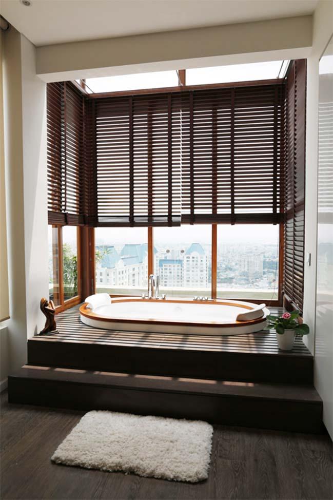 can ho penthouse tai sai gon pearl 09 Chiêm ngưỡng căn hộ penthouse cao cấp sang trọng tại Sài Gòn Pearl