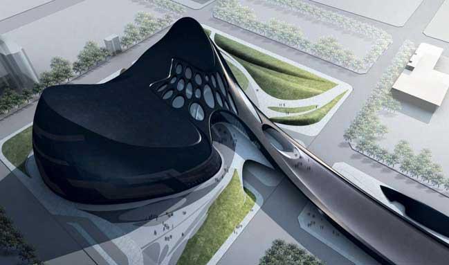Thiết kế kiến trúc hiện đại của tòa nhà Opera tại Đài Loan