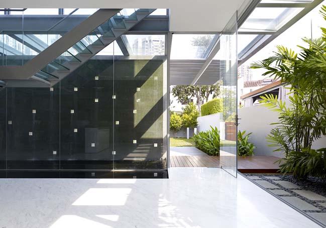 Biệt thự đẹp 3 tầng với thiết kế hiện đại