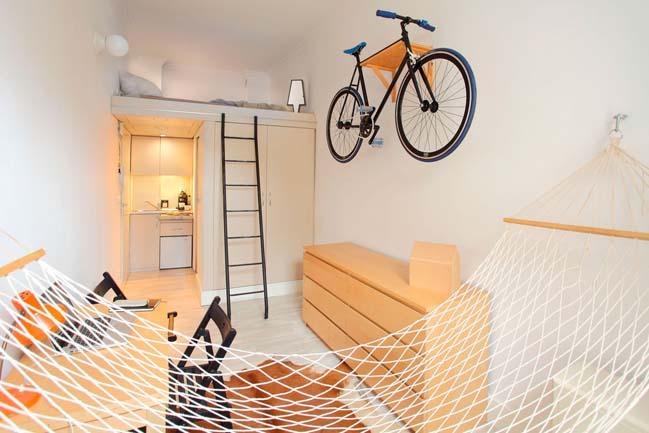 Tối ưu không gian cho nhà nhỏ đẹp 13m2