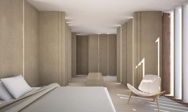 Thiết kế nhà phố đẹp với nội thất gỗ ấm cúng