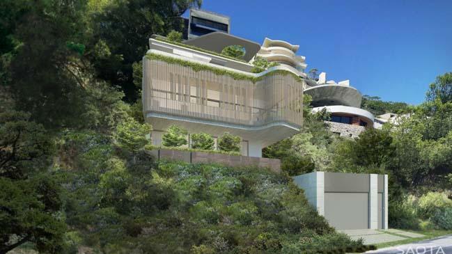 Biệt thự đẹp với thiết kế hiện đại sang trọng đối diện biển