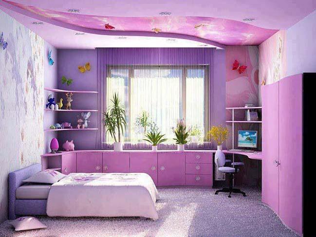 12 mẫu phòng ngủ đẹp với sắc tím xinh xắn