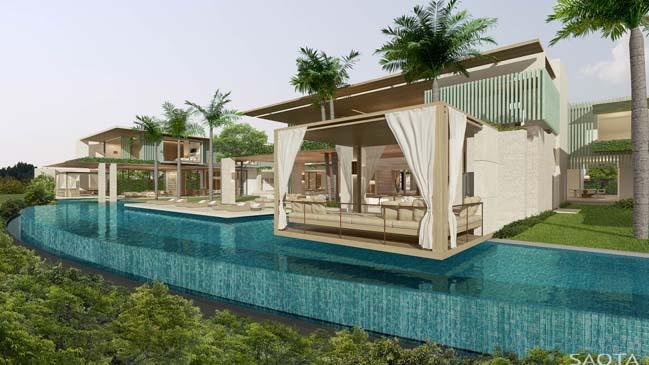 Mê mẫn với mẫu biệt thự đẹp siêu sang tại Dubai