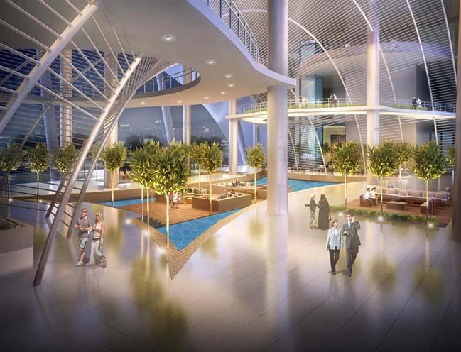 Kiến trúc độc đáo của khách sạn 6 sao tại Qatar