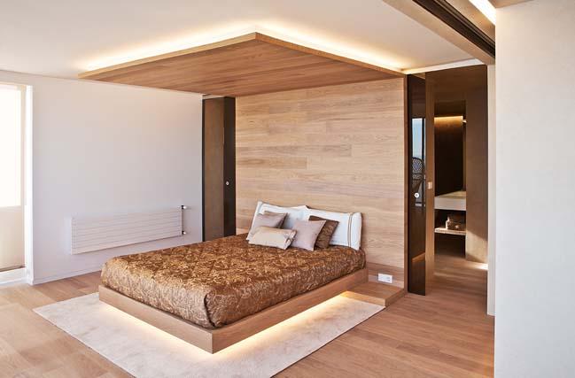 Thiết kê căn hộ 4 phòng ngủ với nội thất sang trọng