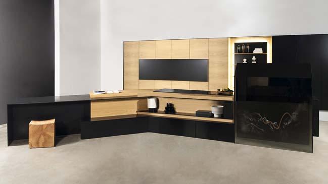 Thiết kế nhà bếp đẹp tích hợp công nghệ cao