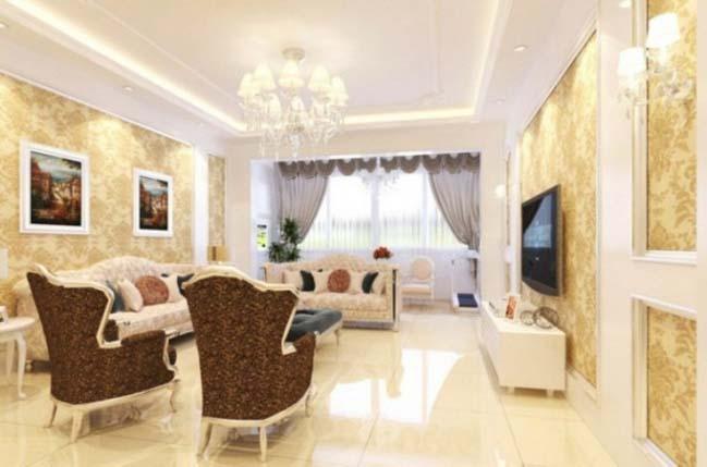 15 mẫu phòng khách đẹp với phong cách Pháp sang trọng