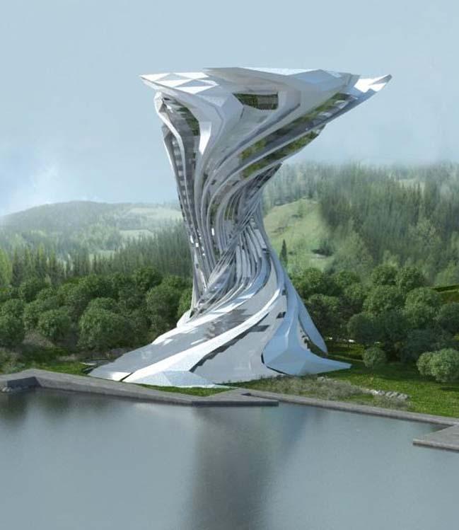 Ý tưởng táo bạo cho thiết kế kiến trúc tương lai