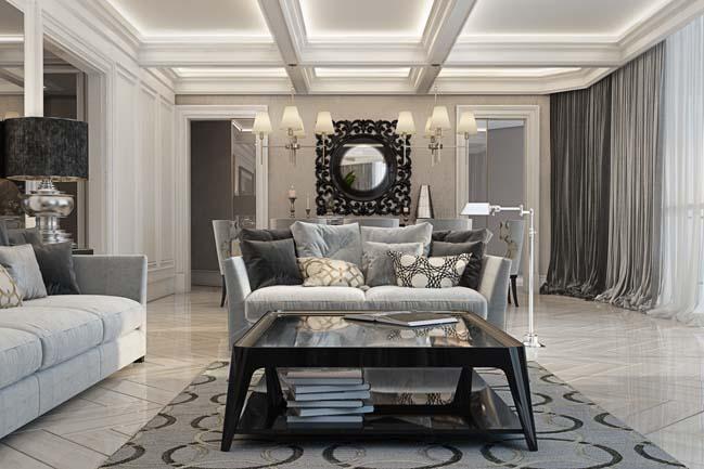 phong khach dep 03 Chiêm ngưỡng phòng khách đẹp với thiết kế đương đại sang trọng