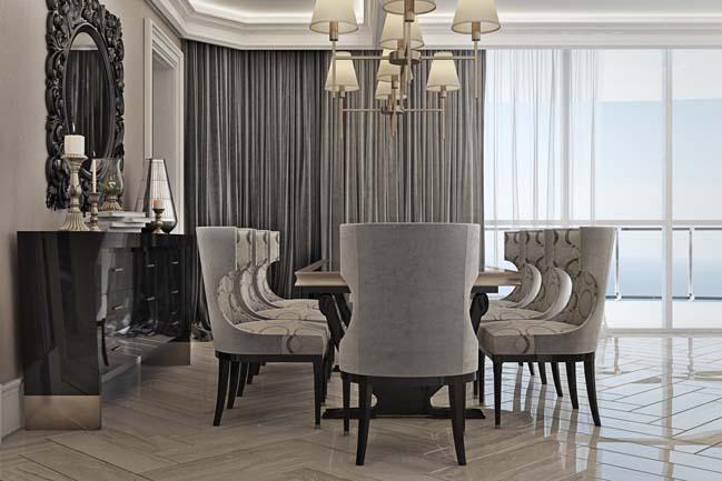 phong khach dep 05 Chiêm ngưỡng phòng khách đẹp với thiết kế đương đại sang trọng