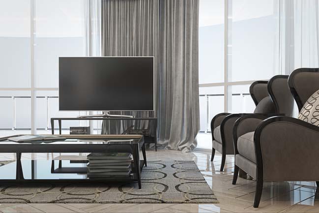 phong khach dep 07 Chiêm ngưỡng phòng khách đẹp với thiết kế đương đại sang trọng