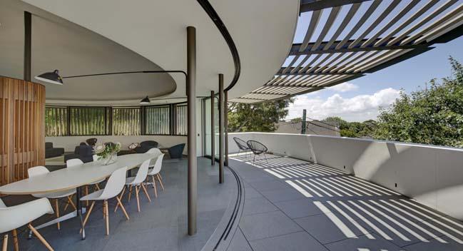 Biệt thự đẹp sang trọng với kiến trúc hình tròn