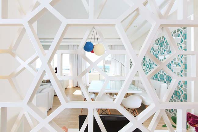 Mẫu nhà đẹp với nội thất trắng sáng