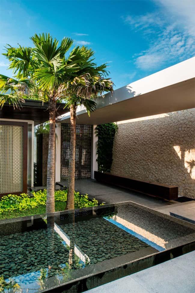 Biệt thự đẹp sang trọng với thiết kế hiện đại