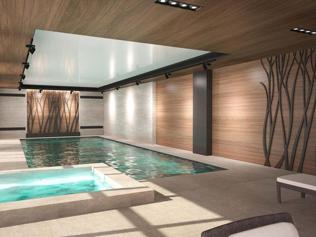 nha dep 03 Thiết kế nhà đẹp với kiến trúc phong cách đương đại sang trọng