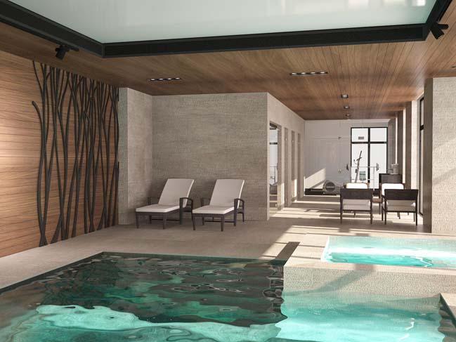 nha dep 06 Thiết kế nhà đẹp với kiến trúc phong cách đương đại sang trọng