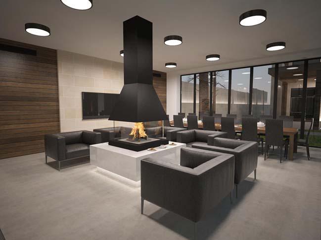 nha dep 07 Thiết kế nhà đẹp với kiến trúc phong cách đương đại sang trọng