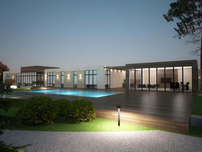 nha dep 10 Thiết kế nhà đẹp với kiến trúc phong cách đương đại sang trọng