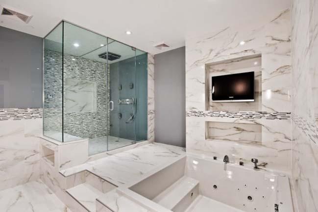 phong tam dep 02 Cùng nhìn qua 15 mẫu phòng tắm đẹp với đá hoa cương sang trọng