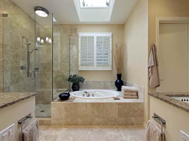 phong tam dep 03 Cùng nhìn qua 15 mẫu phòng tắm đẹp với đá hoa cương sang trọng