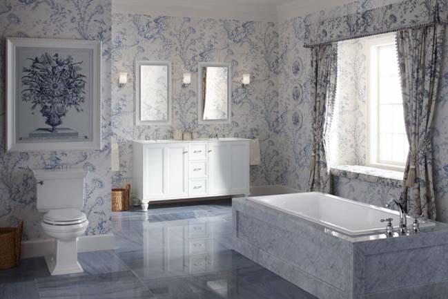 phong tam dep 05 Cùng nhìn qua 15 mẫu phòng tắm đẹp với đá hoa cương sang trọng