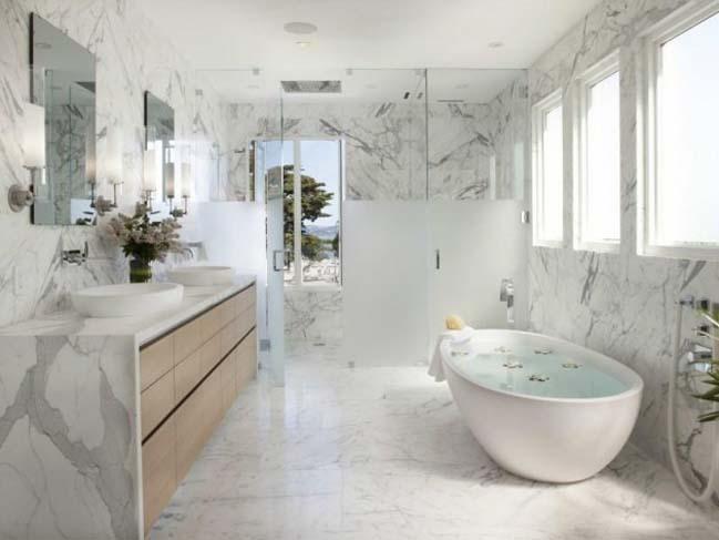 phong tam dep 07 Cùng nhìn qua 15 mẫu phòng tắm đẹp với đá hoa cương sang trọng