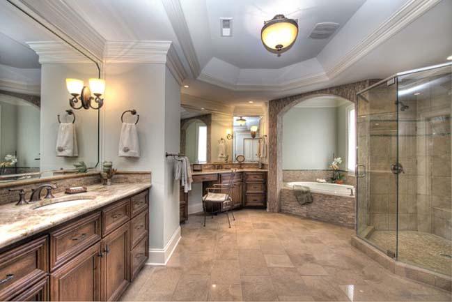 phong tam dep 10 Cùng nhìn qua 15 mẫu phòng tắm đẹp với đá hoa cương sang trọng