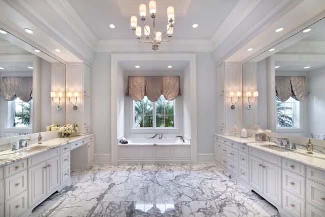 phong tam dep 11 Cùng nhìn qua 15 mẫu phòng tắm đẹp với đá hoa cương sang trọng