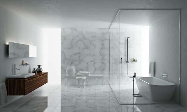 phong tam dep 12 Cùng nhìn qua 15 mẫu phòng tắm đẹp với đá hoa cương sang trọng