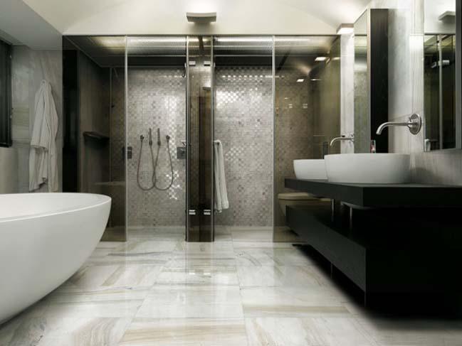phong tam dep 14 Cùng nhìn qua 15 mẫu phòng tắm đẹp với đá hoa cương sang trọng