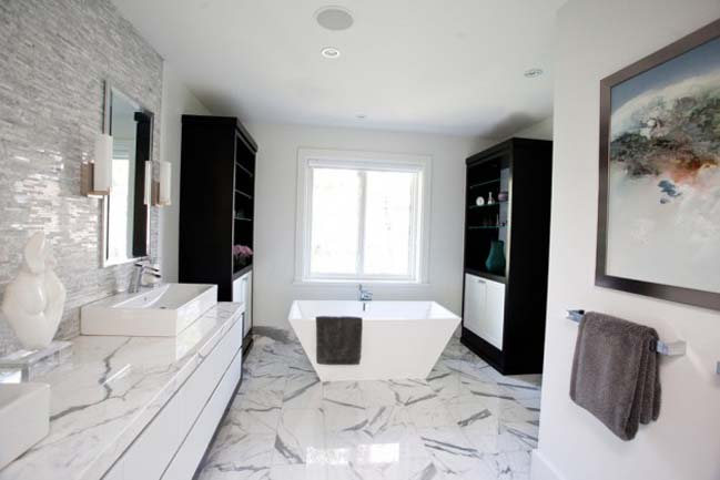 phong tam dep 15 Cùng nhìn qua 15 mẫu phòng tắm đẹp với đá hoa cương sang trọng