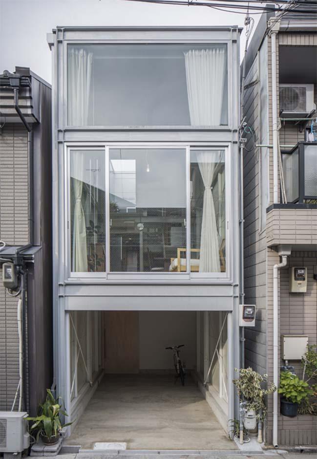 Giải pháp cho nhà phố đẹp có diện tích 3,4 x 13m
