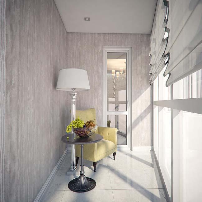 Căn hộ chung cư với phong cách cổ điển sang trọng