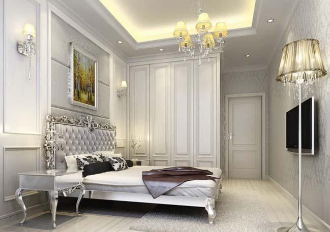 9 mẫu phòng ngủ đẹp với tông màu xám sang trọng