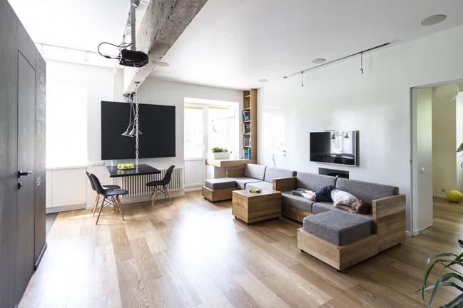 Căn hộ chung cư với những thiết kế tiết kiệm không gian