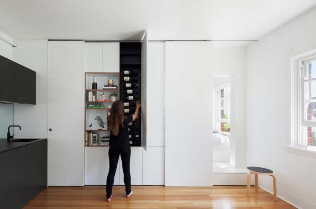 can ho nho dep 02 Gợi ý mẫu thiết kế nội thất của căn hộ 27m2