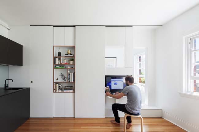 can ho nho dep 03 Gợi ý mẫu thiết kế nội thất của căn hộ 27m2