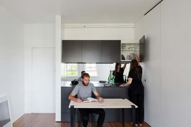 can ho nho dep 04 Gợi ý mẫu thiết kế nội thất của căn hộ 27m2