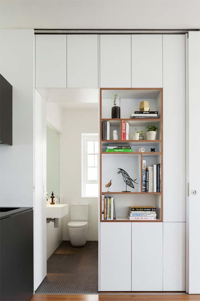 can ho nho dep 05 Gợi ý mẫu thiết kế nội thất của căn hộ 27m2