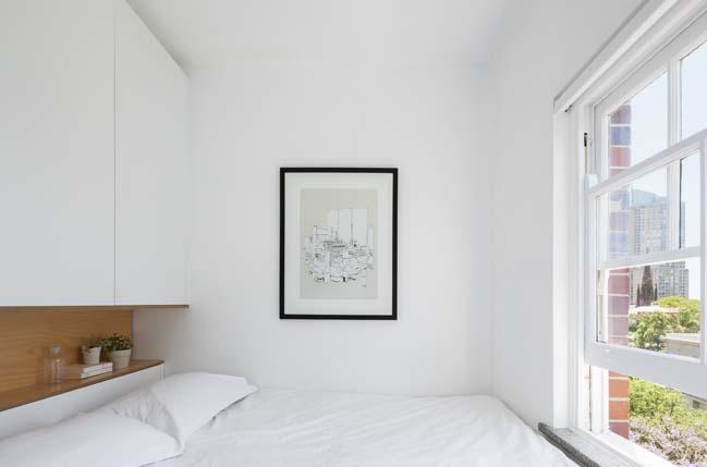can ho nho dep 06 Gợi ý mẫu thiết kế nội thất của căn hộ 27m2