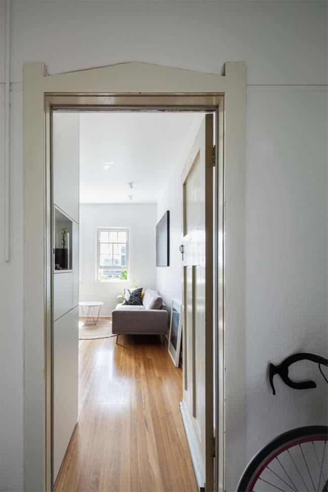 can ho nho dep 07 Gợi ý mẫu thiết kế nội thất của căn hộ 27m2