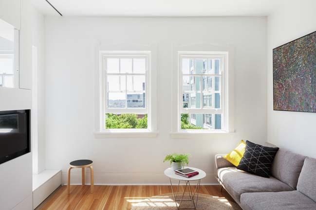 can ho nho dep 08 Gợi ý mẫu thiết kế nội thất của căn hộ 27m2