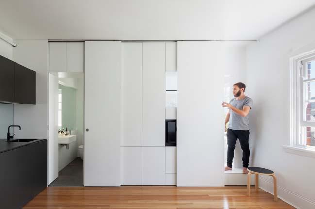 can ho nho dep 10 Gợi ý mẫu thiết kế nội thất của căn hộ 27m2