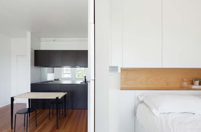 can ho nho dep 11 Gợi ý mẫu thiết kế nội thất của căn hộ 27m2
