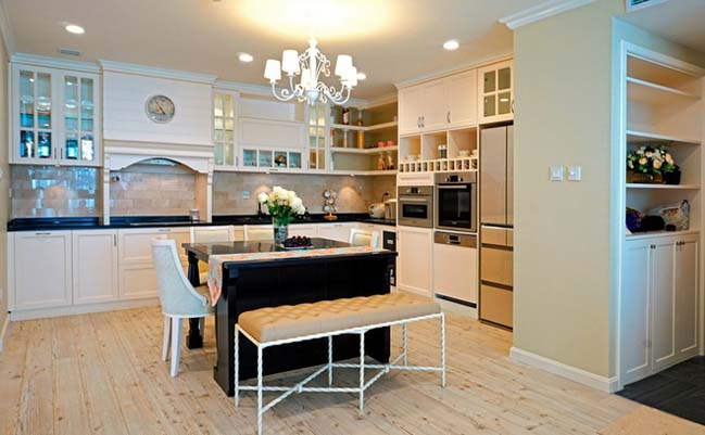 Căn hộ chung cư với thiết kế tân cổ điển sang trọng