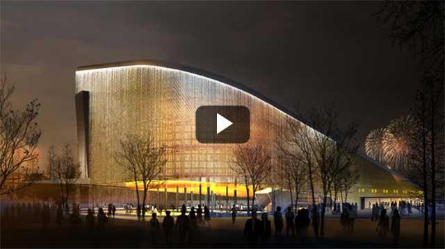 Video kiến trúc: EcoARK tòa nhà xanh nhất Châu Á