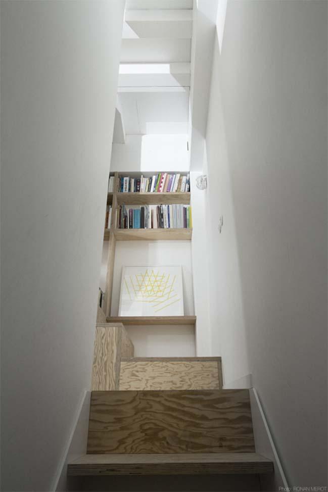 Giải pháp cho nhà đẹp hình tam giác