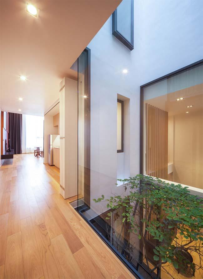 Choáng với mẫu nhà phố đẹp 6 tầng sang trọng